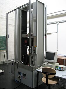Uniaxial Electro-mechanic Universal Testing Machine